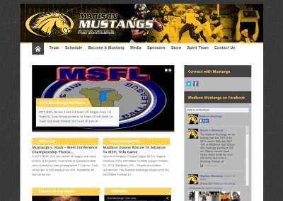 Madison Mustangs Football