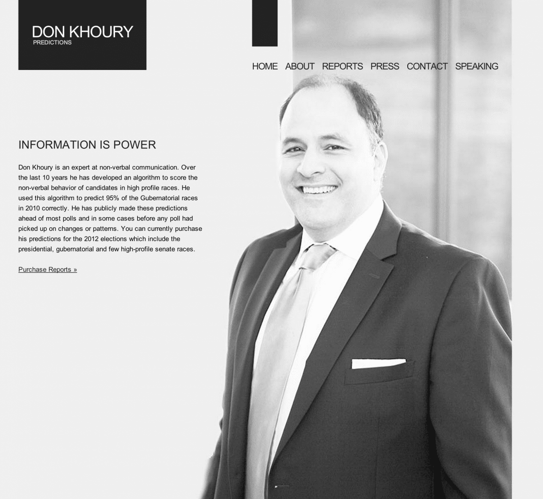 Don Khoury website