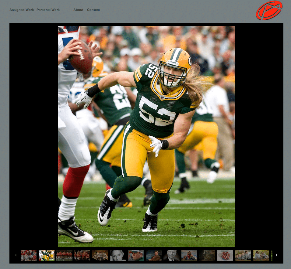 Greg Anderson Photography - Clay Mathews from Green Bay Packers