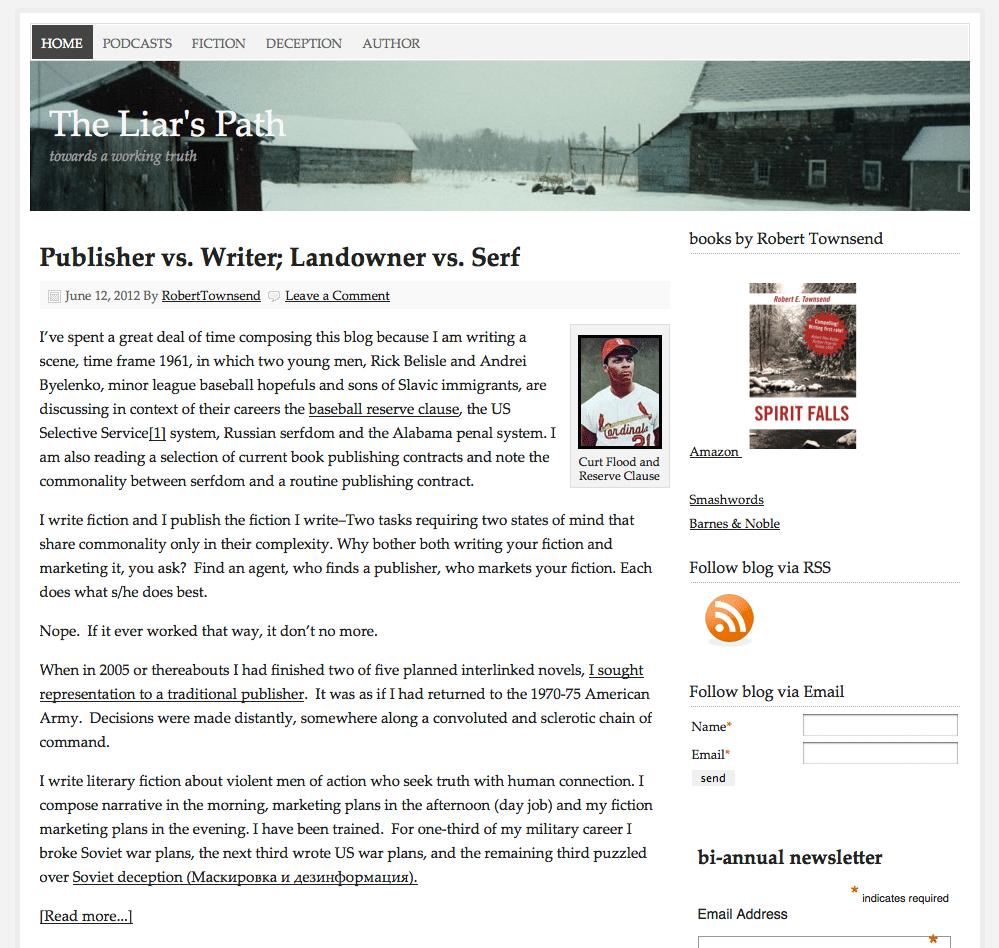 Robert Townsend Online website